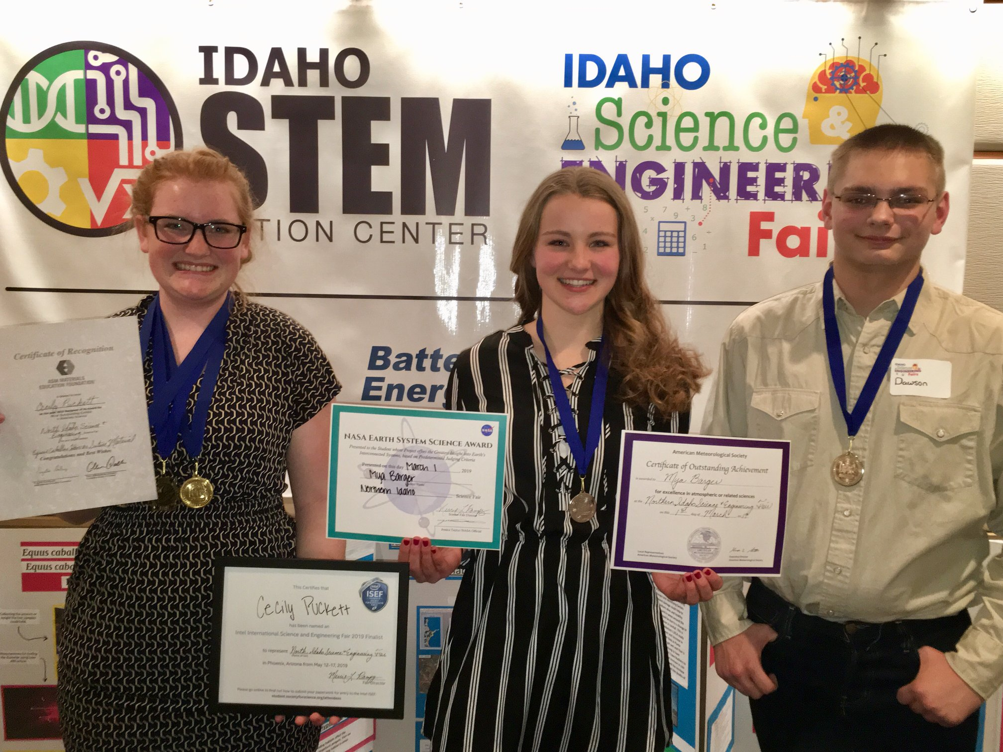 Image of student winners