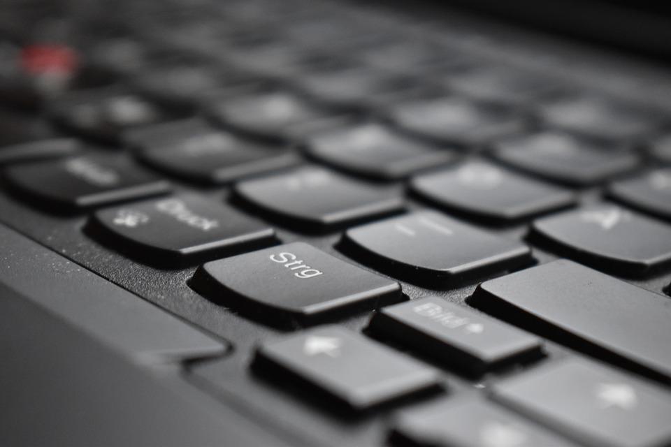 image of laptop keyboard